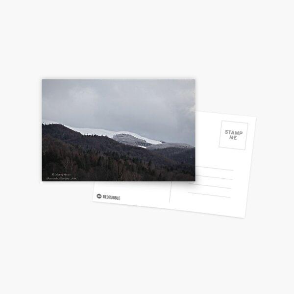 Bieszczada Mountains . Feb.03.2016. Postcard