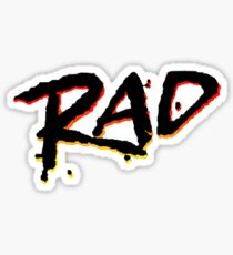 RAD 1980's BMX MOVIE Sticker