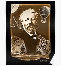 Jules Verne Tribute Poster