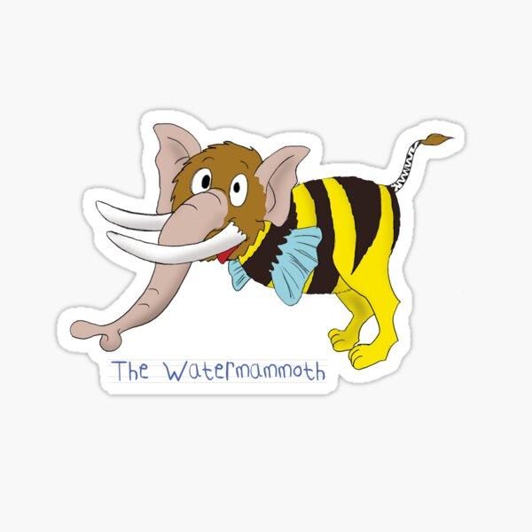 The water mammoth Sticker