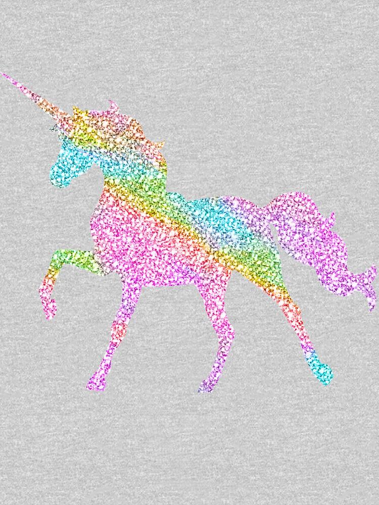 Sparkly Rainbow Unicorn by jwyly12