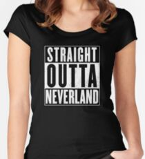 Neverland Women's Fitted Scoop T-Shirt