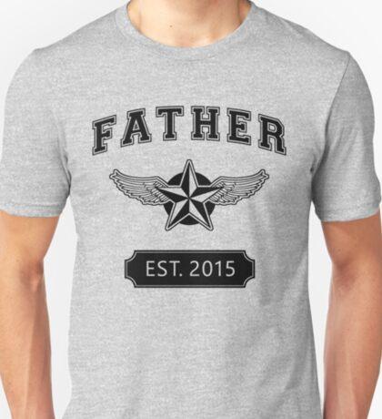 FATHER - EST. 2015 T-Shirt