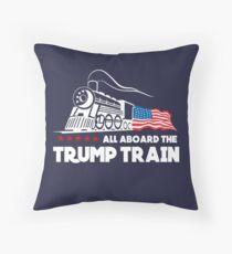 Cojín ¡Todos a bordo del Trump Train!