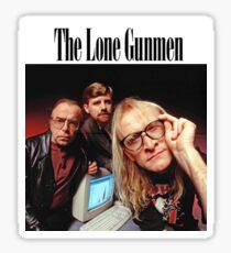 Lone Gunmen Sticker