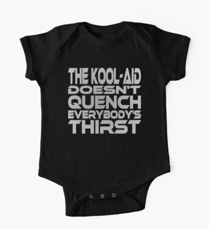 Thirsty? (Grey) Kids Clothes