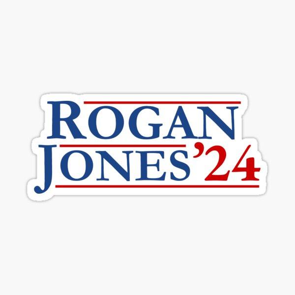 Joe Rogan Alex Jones 2024 Presidential Campaign Sticker