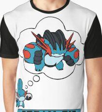 Mudkip Dream Big Graphic T-Shirt