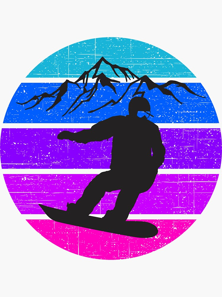 Snowboarding, great gift for snowboard lovers by ds-4