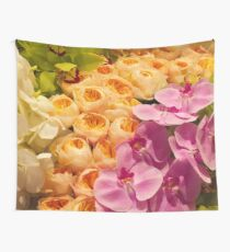 Orchid Topiary Wall Tapestry