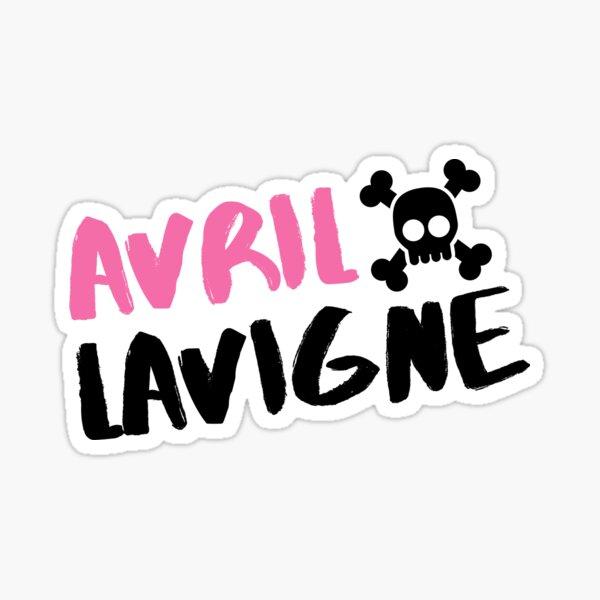 Pegatina Avril Lavigne Pegatina