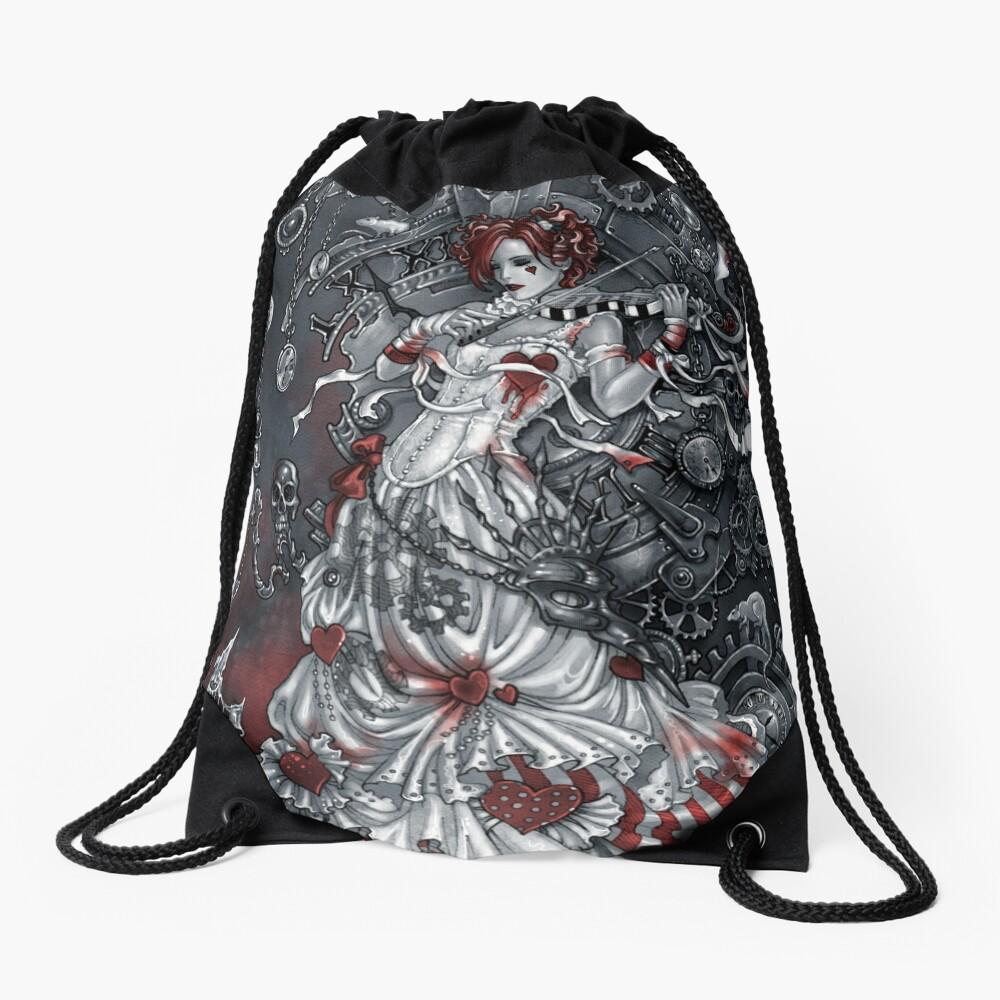 Magic violin Drawstring Bag