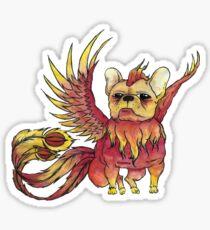 French Bulldog x Phoenix Sticker
