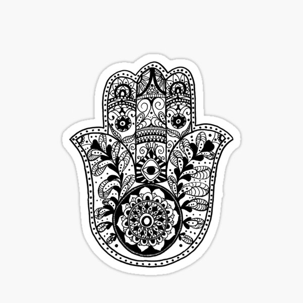 The Hamsa Hand Sticker