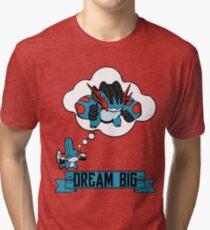 Mudkip Dream Big Tri-blend T-Shirt