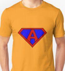 Hero, Heroine, Superhero, Initials, A Unisex T-Shirt