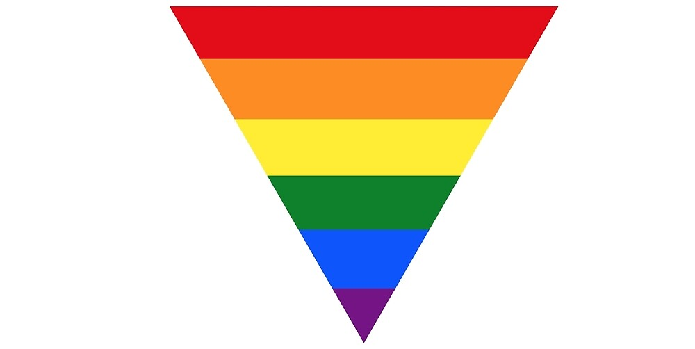 """LGBT Triangle Symbol """" by ShopofQueer 