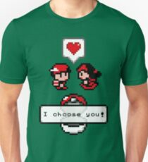 Pokemon Valentine I Choose You!  T-Shirt
