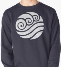 White Waterbending Emblem Pullover