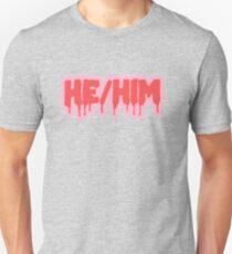 He/Him Slim Fit T-Shirt