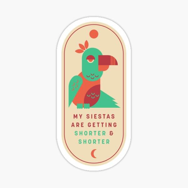 Siestas Sticker