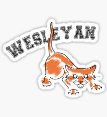 Wesleyan Bobcat Sticker