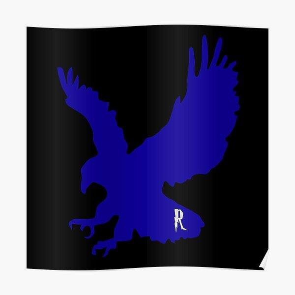 Aguila azul Póster