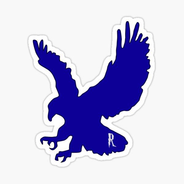Aguila azul Pegatina
