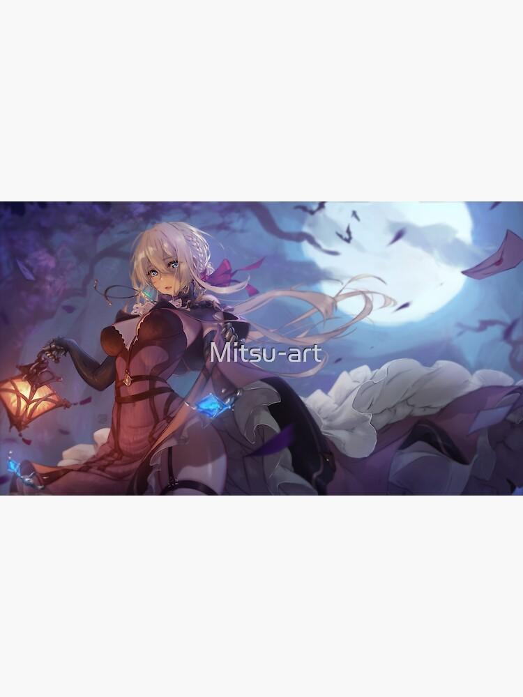 Violet Evergarden vampire   Violet Evergarden by Mitsu-art
