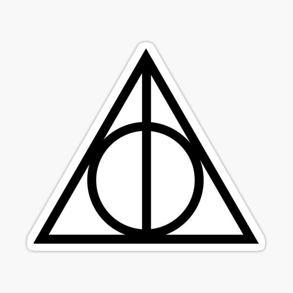HP Deadly Hallow Sticker