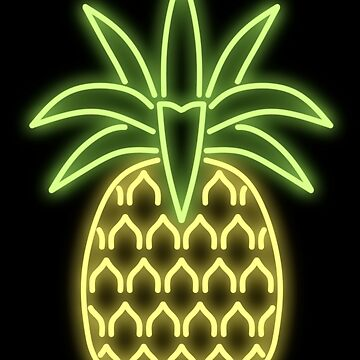 Pineapple Neon Sign by herderofcats