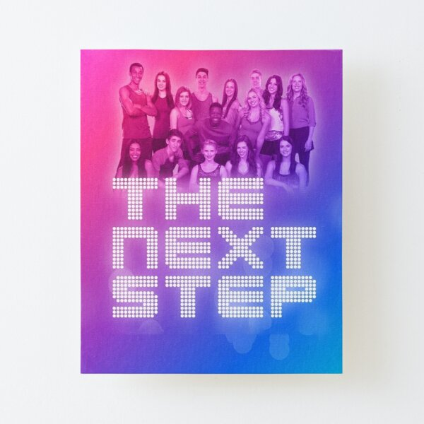 The Next Step Canvas Mounted Print