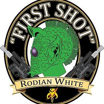 First Shot Rodian White Ale by WinterWolfMedia