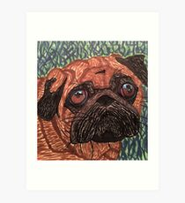 Puggy Art Print