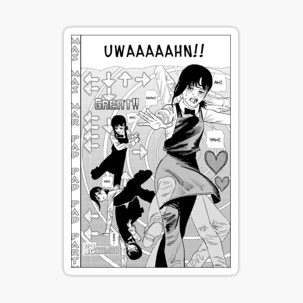 Chainsaw Man- Dancing Kobeni Sticker
