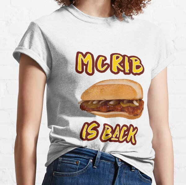 ¡Es la temporada de McRib! Camiseta clásica