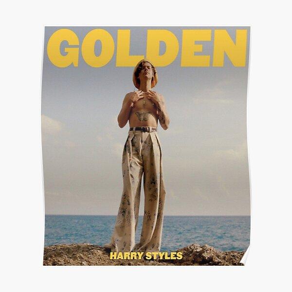 Golden Poster Poster