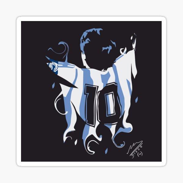Diego Armando Maradona (El Diego) - Football Legend Sticker