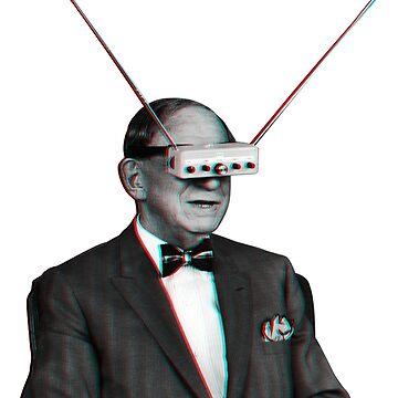 Old Man Tv Glasses (efecto vintage 3D) de Doge21
