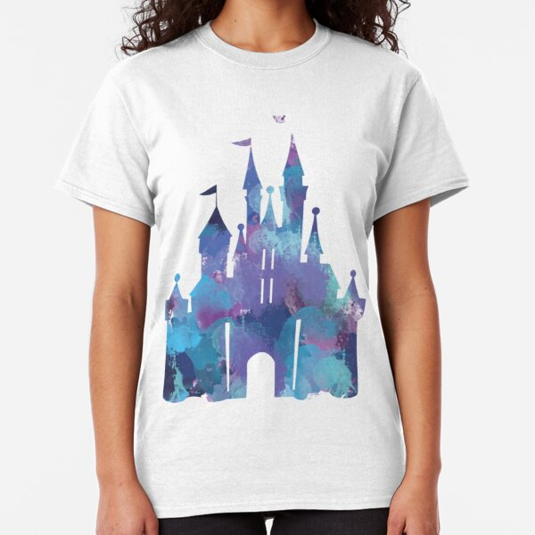 Splatter Paint Castle Classic T-Shirt