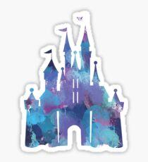 Splatter-Lack-Schloss Sticker