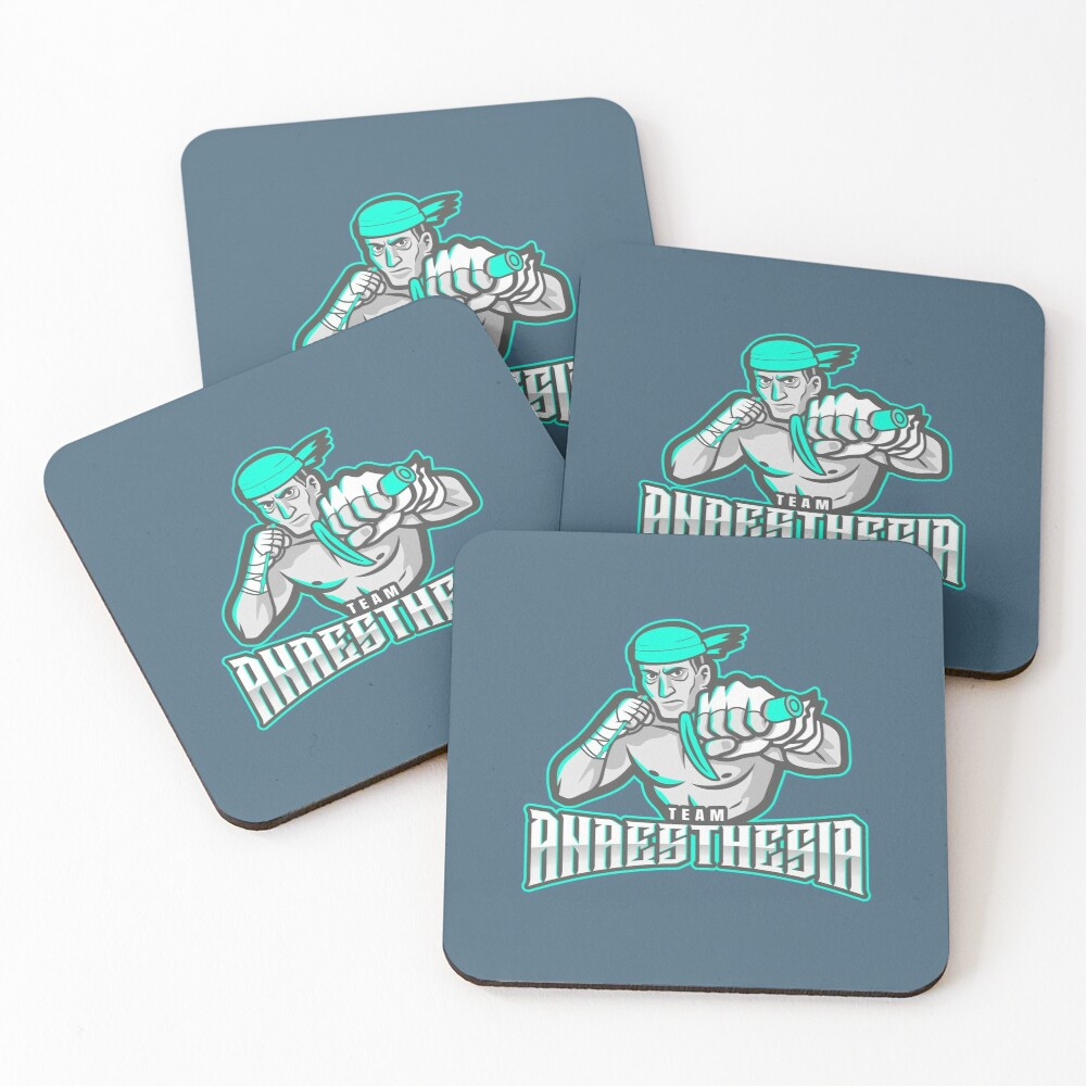 Team Anaesthesia WINNERS Coasters (Set of 4)