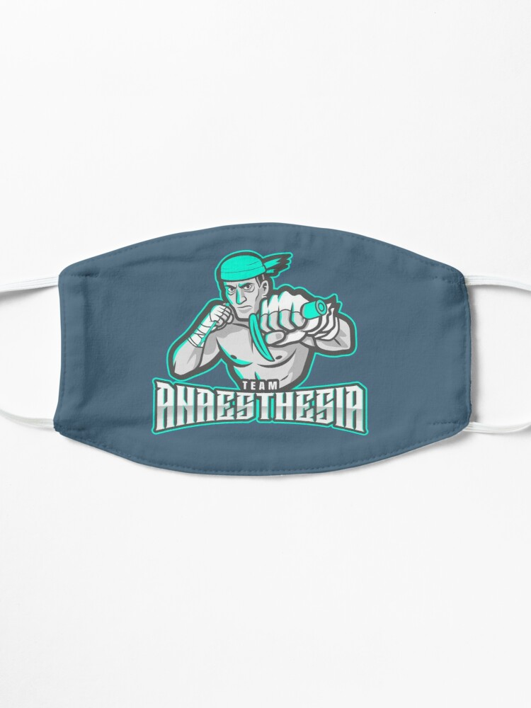 Alternate view of Team Anaesthesia WINNERS Mask