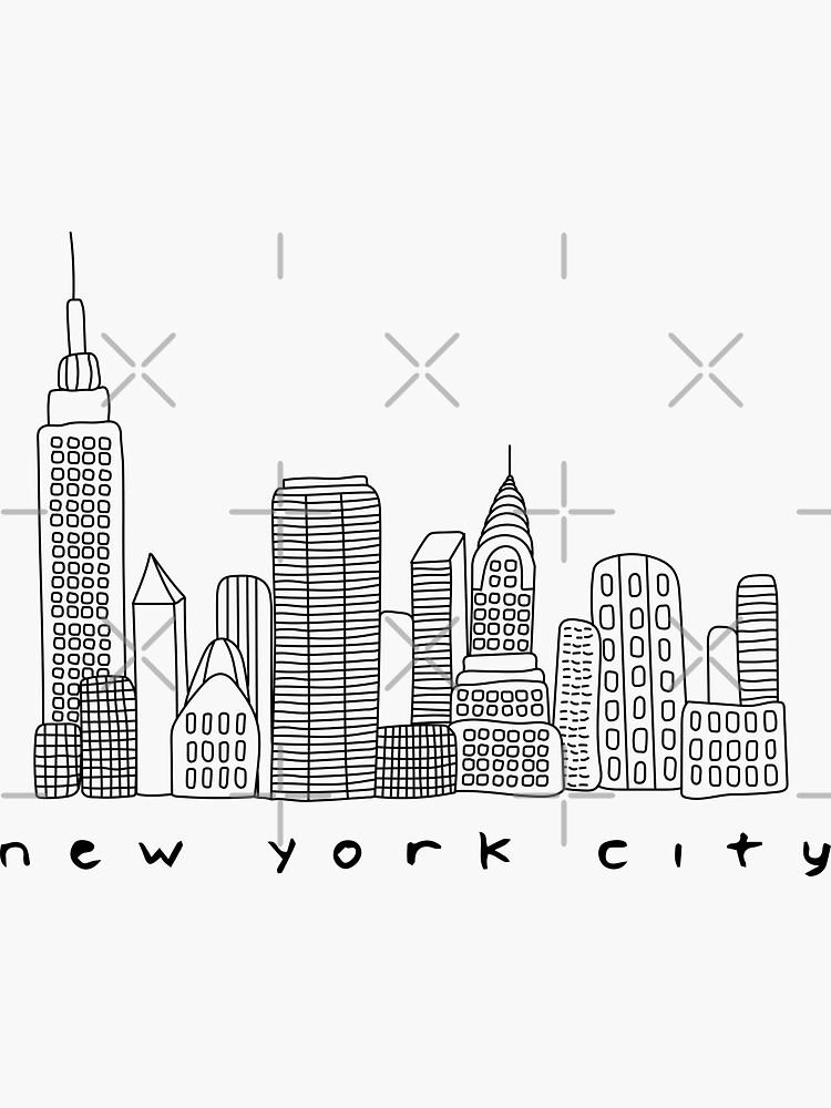 New York City Skyline by trebuck