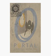 Portal Game Poster Photographic Print