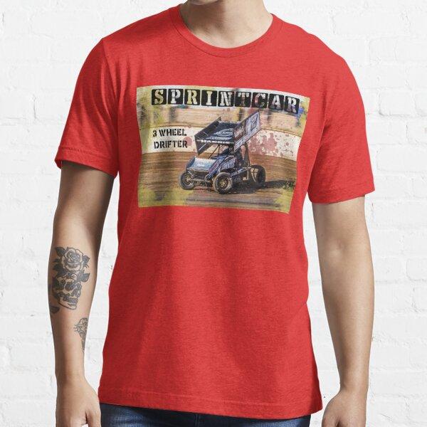 Sprintcar 3 Wheel drifter Essential T-Shirt