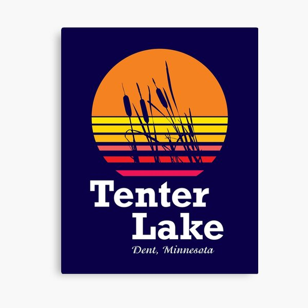 Tenter Lake Minnesota Sun Canvas Print