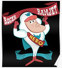 Roger Ramjet - hero of our nation Poster