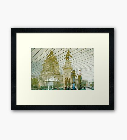 Quebec Reflections II Framed Print