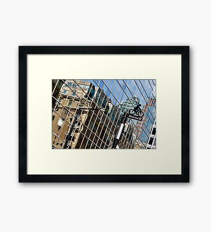 Montreal Je T'aime Framed Print
